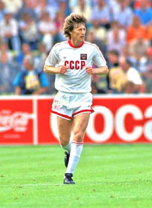 UEFA European Championship 1988 Sergei Baltacha - USSR ©Juha Tamminen