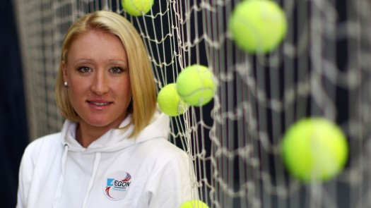 FILE - British Tennis Player Elena Baltacha Has Died Of Liver Cancer, Aged 30