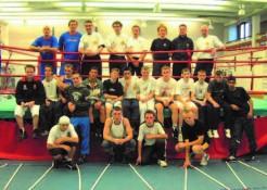 Nino and the England Boxing Team